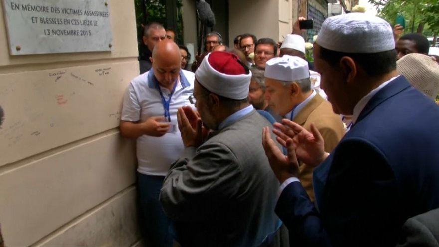Bataclan: Imame gedenken der 130 Todesopfer