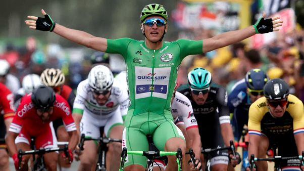 تور دو فرانس: چهارمین پیروزی مرحله ای برای مارسل کیتل