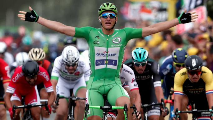 Tour de France: Marcel Kittel wins a fantastic fourth stage win