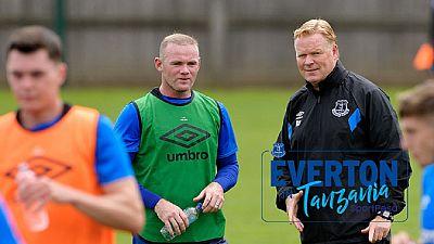 Angleterre - Rooney marque pour Everton en amical en Tanzanie