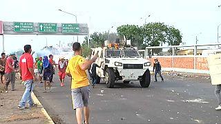 Szenen der Gewalt in Caracas