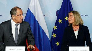 Mogherini reanuda el diálogo bilateral con Moscú