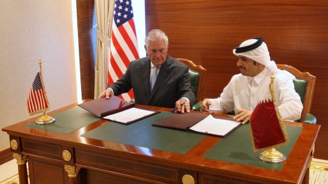 Quarteto mantém sanções apesar do acordo entre Doha e Washington sobre o terrorismo