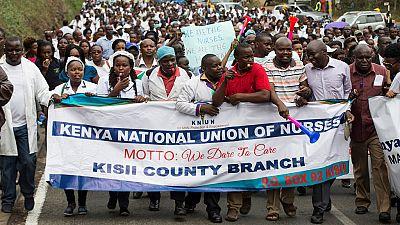 Les médecins du Kenya dans leur cinquième semaine de grève
