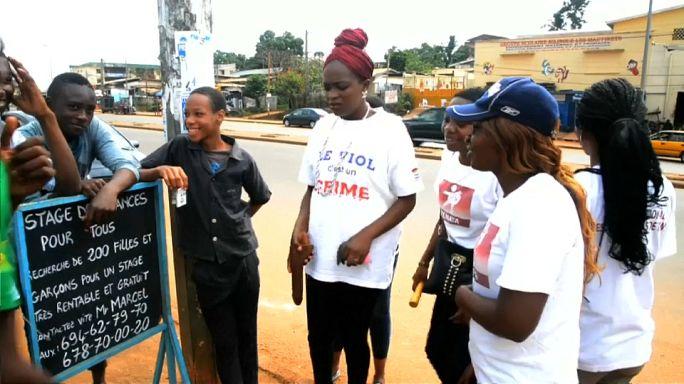 Kamerun'da cinsel tacize savaş