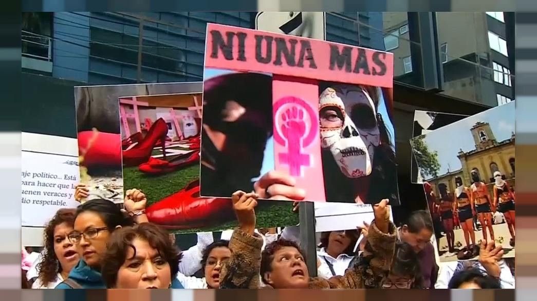 Mexico: protesters demand action on violence against women