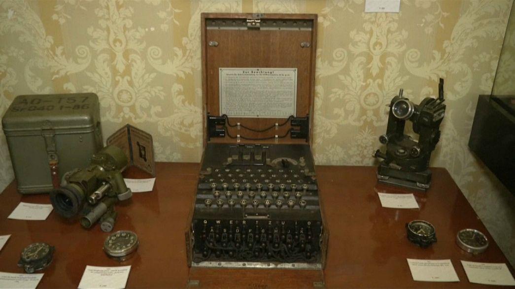 Une machine de cryptage nazi vendue 45 000 euros