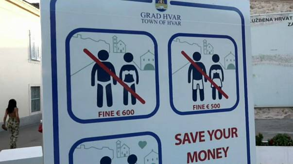 Hvar introduces fines for tourists behaving inappropriately