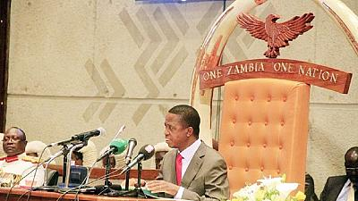 Zambie : le parlement confirme l'état d'urgence pour trois mois