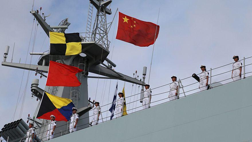 China: Manöver im Mittelmeer