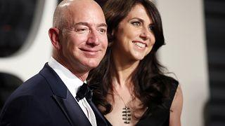 Image: Jeff Bezos MacKenzie Bezos