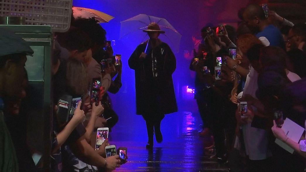 """New York: Fashion Victims gehen als """"Blade Runner"""""""
