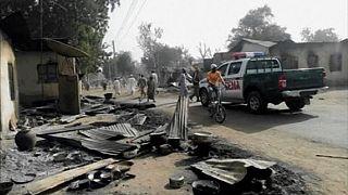 17 killed in suicide bombing in northeast Nigeria's Maiduguri