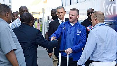 Tanzania welcomes Rooney, Everton FC with food, culture and football