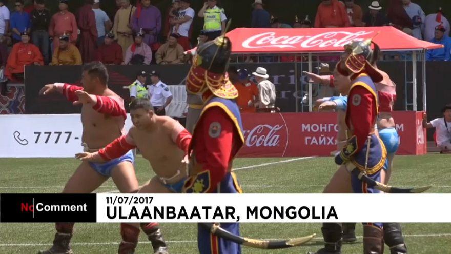 L'éclatant festival Naadam en Mongolie