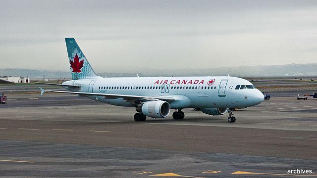 Un avion d'Air Canada frôle la catastrophe à San Francisco