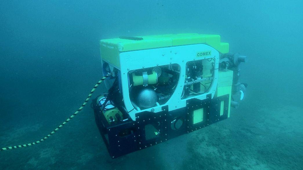 Operazioni subacquee rischiose? Ora ci pensa il robot DEXROV