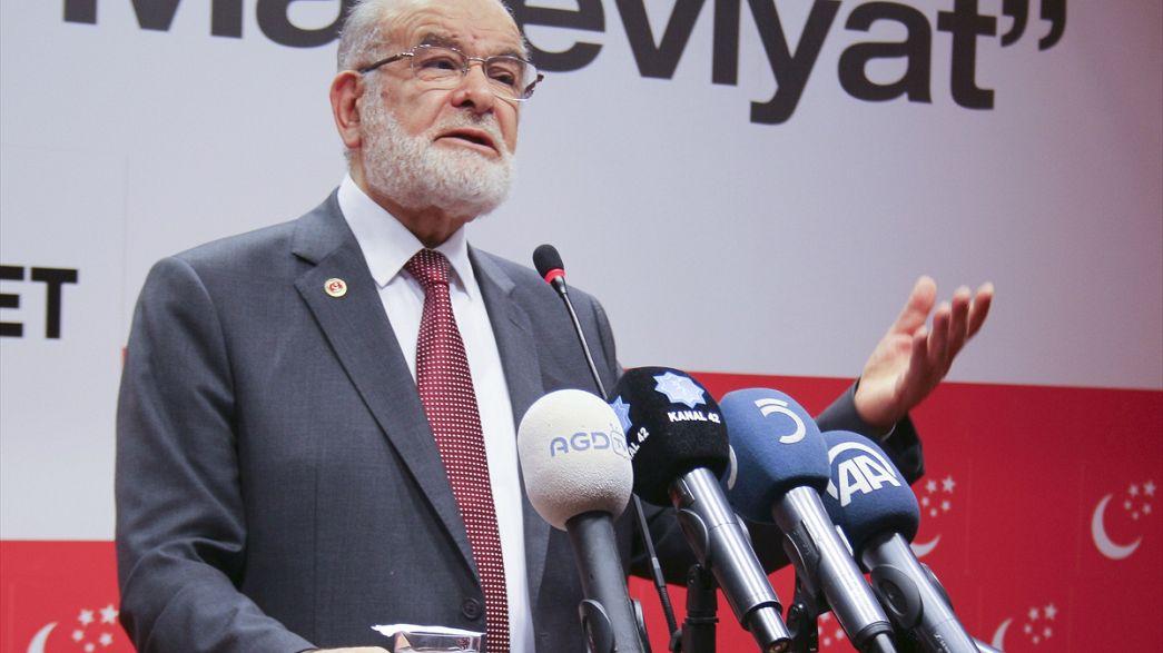 """Saadet Partisi Lideri Karamollaoğlu: """"Bizi o günleri aratır hale getirmeyin"""""""