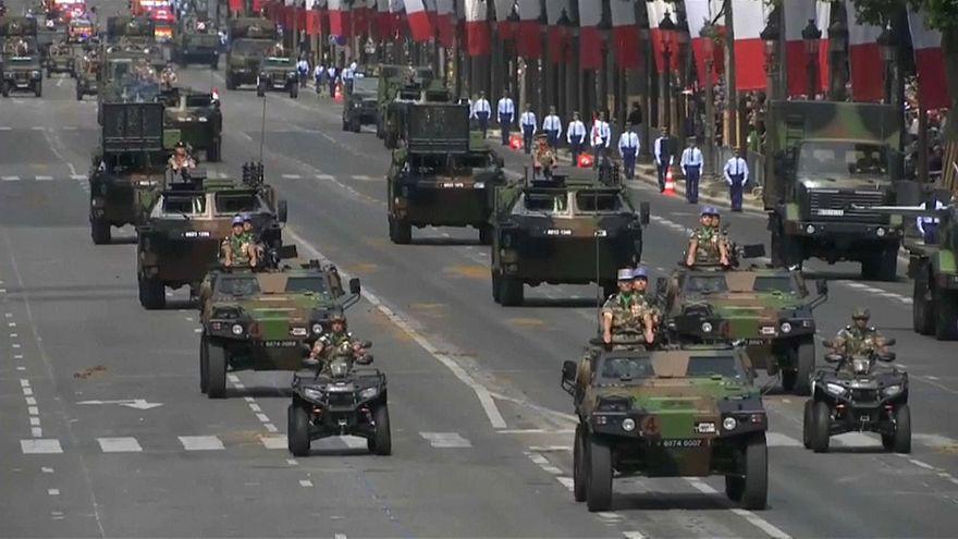 14 juillet : défilé sous haute sécurité, en présence de Trump