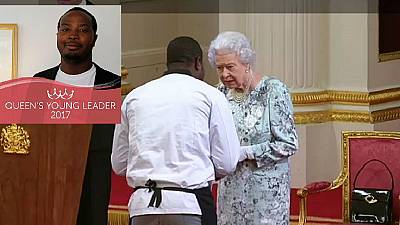 Meet Elijah Amoo Addo: Ghanaian chef, 26, who got Queen's award dressed in work gear