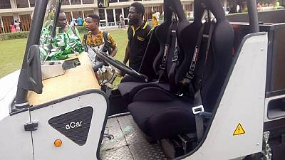 Ghana tech university builds solar-powered 4x4 vehicle