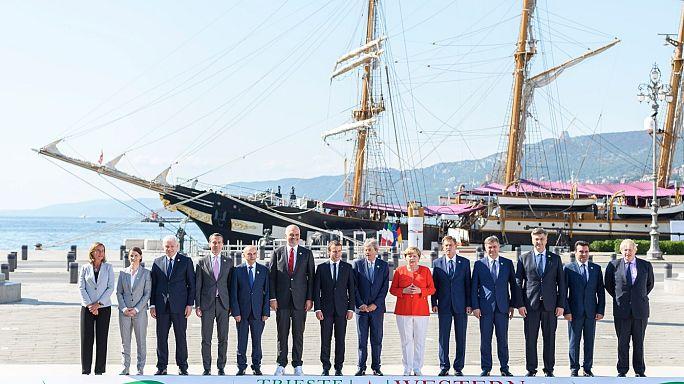 İtalya Batı Balkan Zirvesi'ne ev sahipliği yaptı