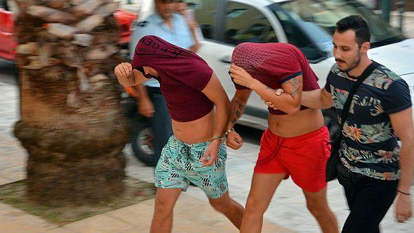 Zakynthos: moment US student was beaten to death caught on CCTV