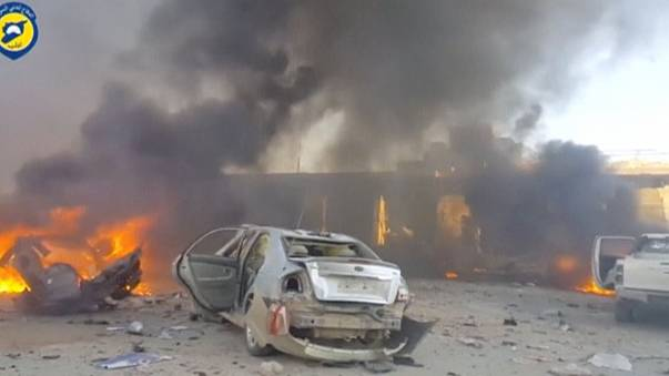 قتلى وجرحى في تفجير انتحاري في إدلب شمال سوريا