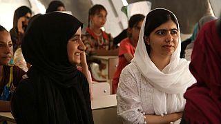 في عيد ميلادها العشرين ملالا يوسف زاي تزور الأطفال النازحين في العراق