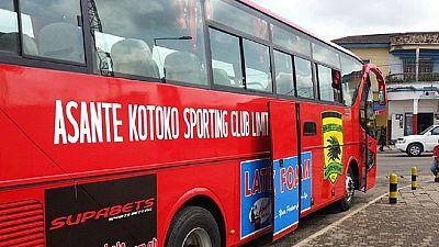 Ghana : un mort dans l'accident du bus transportant les membres d'Ashanti Kotoko