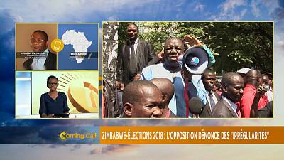 Zimbabwe opposition suspicious of vote rigging [The Morning Call]