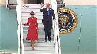 ABD Başkanı Trump Paris'te