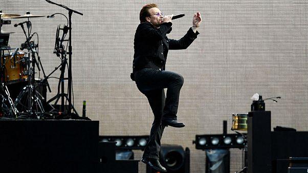 Évfordulós turnén a U2