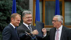 انتقاد رهبران اروپا از فساد در ساختار سیاسی اوکراین