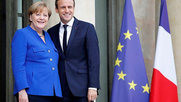 """Merkel nach Treffen mit Macron: """"Können über europäischen Finanzminister reden"""""""