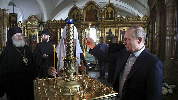 Таинственный спутник Владимира Путина