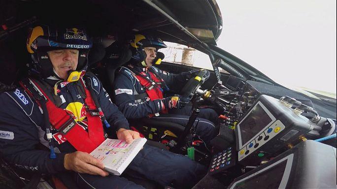 Victorias para Peterhansel y Nikolaev en la sexta etapa del Rally Ruta de la Seda.
