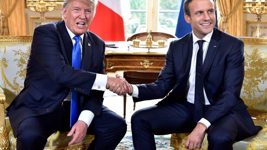 Трамп и Макрон о разногласиях и дружбе
