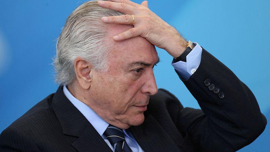 Brésil : une commission s'oppose au procès de Temer