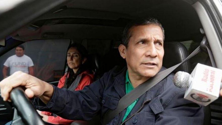 L'ancien président Ollanta Humala condamné à 18 mois de prison préventive