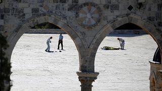 Lövöldözés Jeruzsálem óvárosában