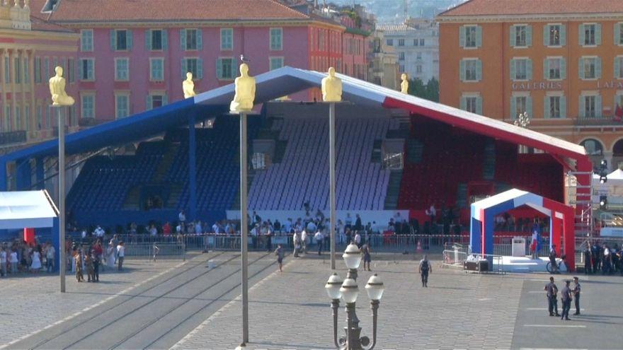 Nice : derniers préparatifs avant la commémoration de l'attentat