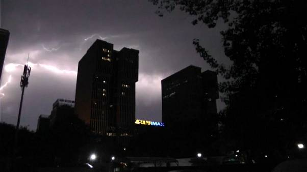 Lightning strikes and thunderstorms end China's summer snap