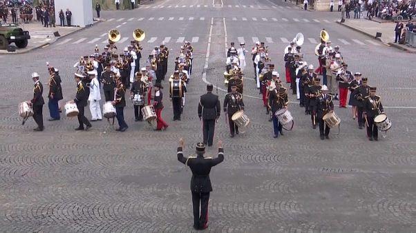 Daft Punk на военном параде