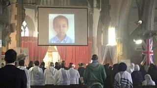 U.K. funeral for Ethiopian boy, 5, who died in London tower inferno