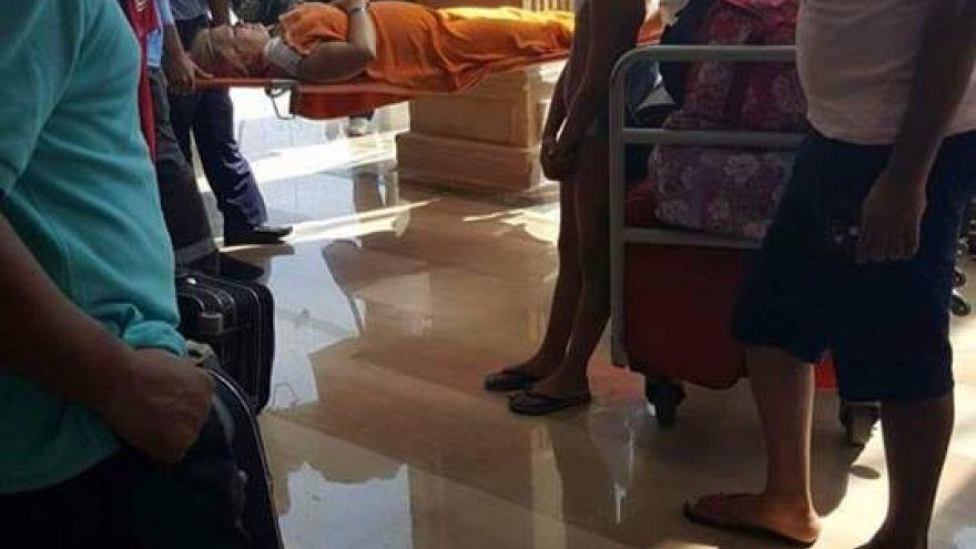 Нападение с ножом на туристов в Египте