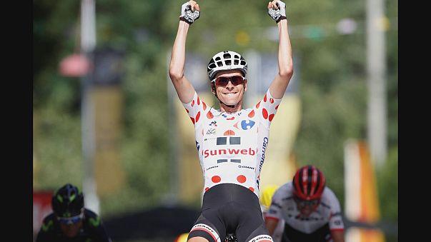 Barguil logra su primera victoria en el Tour