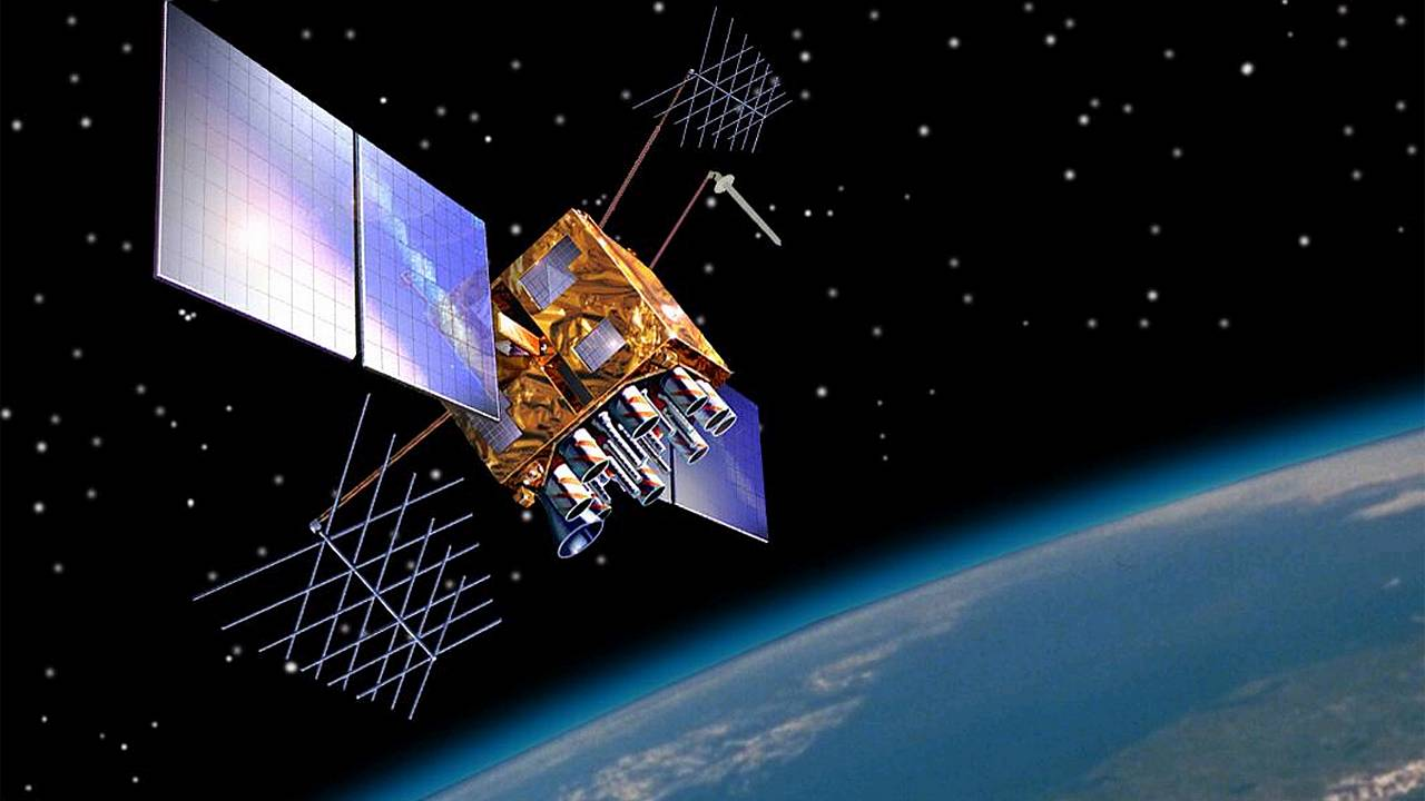 Image: GPS Block IIR(M) Satellite