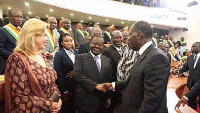 Côte d'Ivoire : querelles au sein de la coalition RHDP