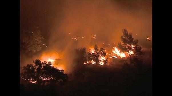 Erdőtüzek puszítanak Montenegróban